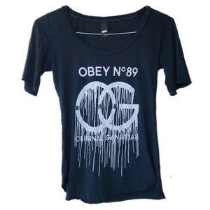 Vintage Obey no.89 Original Ganstas t shirt